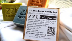 ZZL Soap hand made in Taiwan