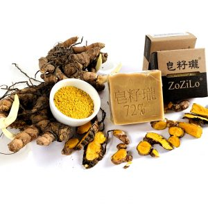ZoZiLo Soap Yellow Turemic Soap
