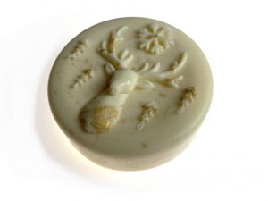 ZoZiLo Gold Reindeer Soap